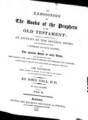 An Exposition of the Old Testament, etc