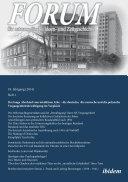 Forum für osteuropäische Ideen- und Zeitgeschichte. 18. Jahrgang, Heft 1 [German-language Edition]