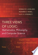 Three Views of Logic