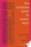 The Columbia Guide To Online Style Book PDF