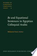 Be and Equational Sentences in Egyptian Colloquial Arabic