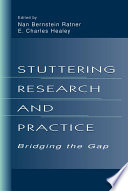 Stuttering Research And Practice Book