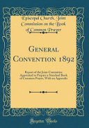 General Convention 1892