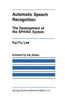 Automatic Speech Recognition Pdf/ePub eBook