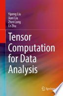 Tensor Computation for Data Analysis Book
