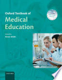 Oxford Textbook Of Medical Education Book PDF