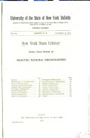 Selected National Bibliographies