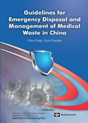 Guidelines for Emergency Disposal and Management of Medical Waste in China