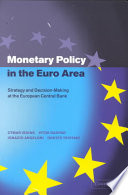Monetary Policy in the Euro Area Book
