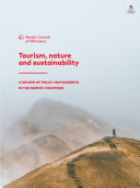 Tourism  nature and sustainability