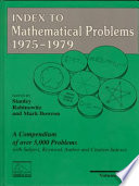 Index to Mathematical Problems, 1975-1979