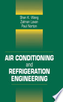 Air Conditioning And Refrigeration Engineering Book PDF