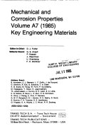 Mechanical and Corrosion Properties Book