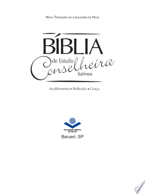 Download Bíblia de Estudo Conselheira - Salmos Free Books - Dlebooks.net
