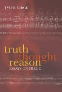 Truth  Thought  Reason