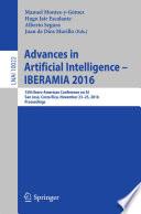 Advances In Artificial Intelligence Iberamia 2016