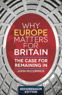 Why Europe Matters for Britain