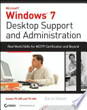 Windows 7 Desktop Support And Administration Book PDF