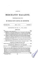 Hunt s Merchants  Magazine and Commercial Review Book