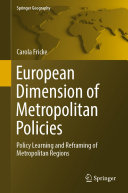 European Dimension of Metropolitan Policies