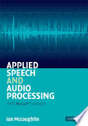 Applied Speech And Audio Processing Book PDF
