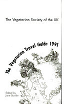 The Vegetarian Travel Guide  1991 Book PDF