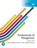 Fundamentals of Management  Global Edition
