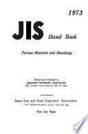 JIS Hand Book
