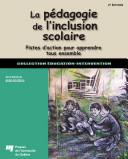 La pédagogie de linclusion scolaire, 2e édition