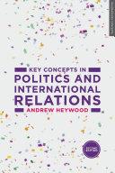 Key Concepts in Politics and International Relations Pdf/ePub eBook