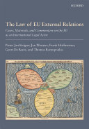 The Law of EU External Relations