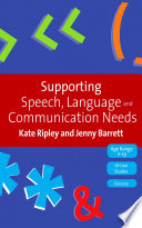Supporting Speech Language Communication Needs