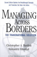 Managing Across Borders