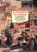 Alphabets to Order
