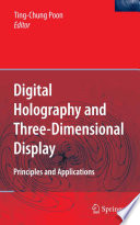 Digital Holography and Three Dimensional Display Book