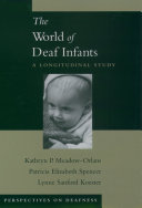 The World of Deaf Infants