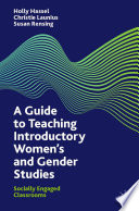 A Guide to Teaching Introductory Women   s and Gender Studies Book