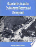 Opportunities In Applied Environmental Research And Development Book PDF
