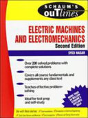 Schaum s Outline of Electric Machines   Electromechanics