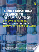 Using Educational Research to Inform Practice Book