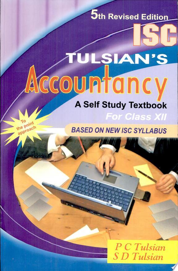 Tulsian's Isc Accountancy XII