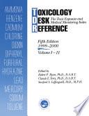 Toxicology Desk Reference Book PDF