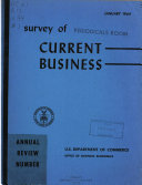 Survey of Current Business