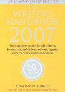 The Writer S Handbook 2007 Book