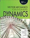 Vector mechanics for engineers.