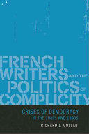 French Writers and the Politics of Complicity