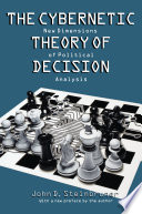 The Cybernetic Theory of Decision Book
