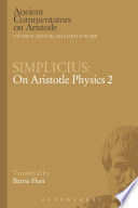 Simplicius  On Aristotle Physics 2