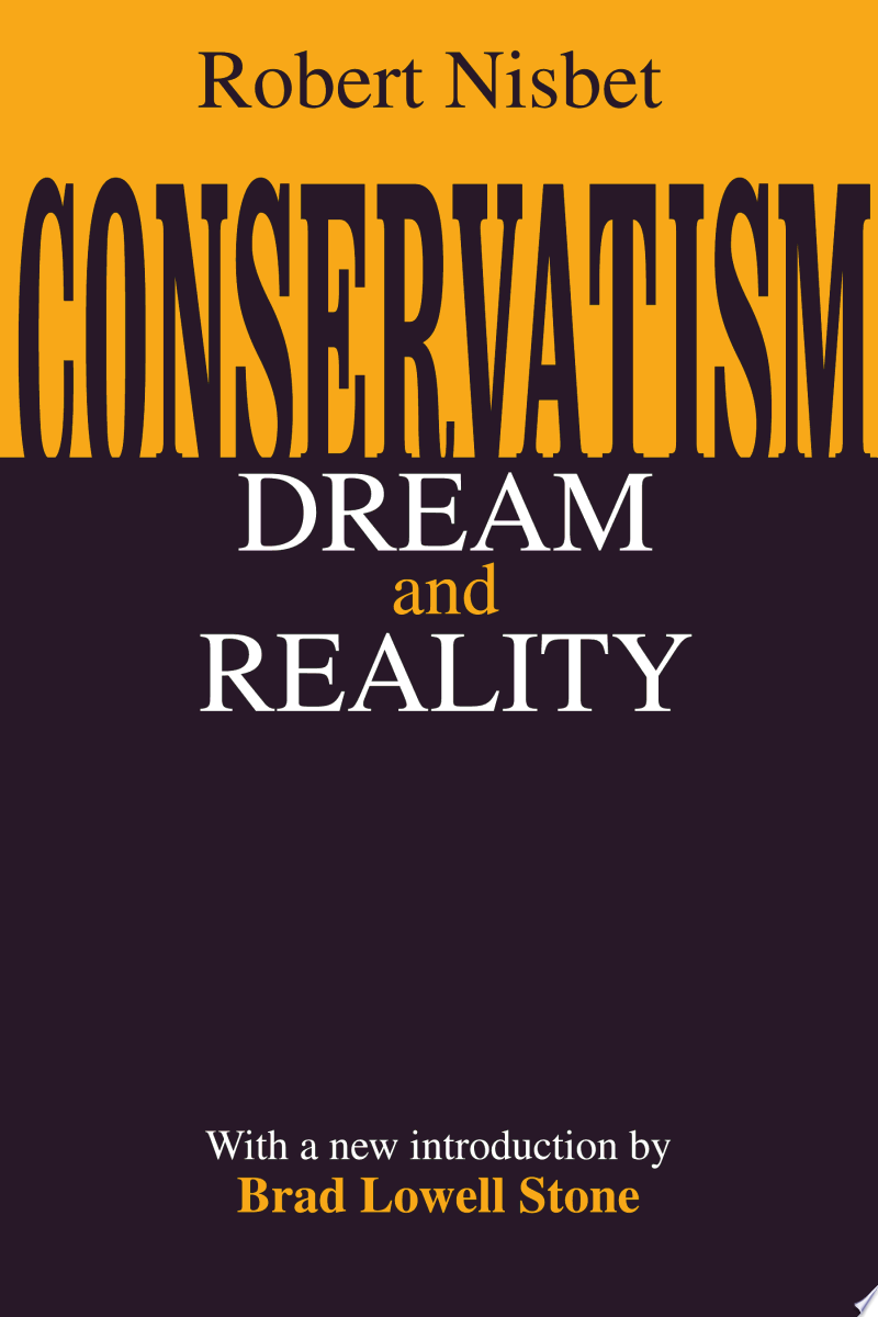 Conservatism: Dream and Reality banner backdrop