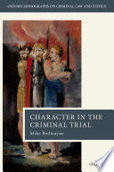 Character in the Criminal Trial